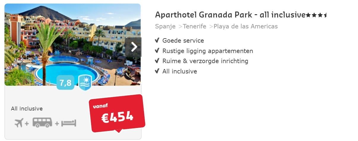 Aparthotel Granada Park tenerife