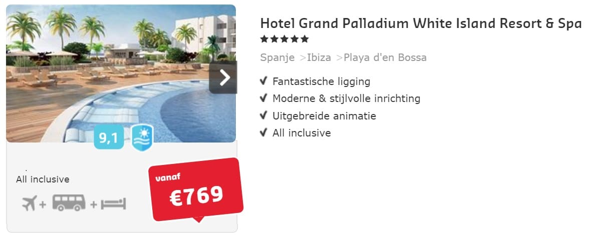 Hotel Grand Palladium White Island Resort