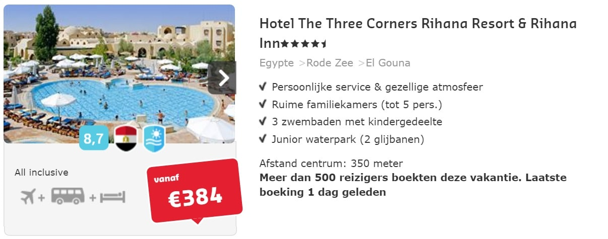 Hotel The Three Corners Rihana Resort & Rihana Inn