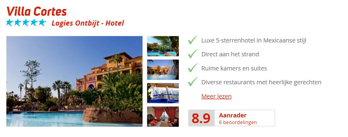 Hotel Villa Cortes tenerife