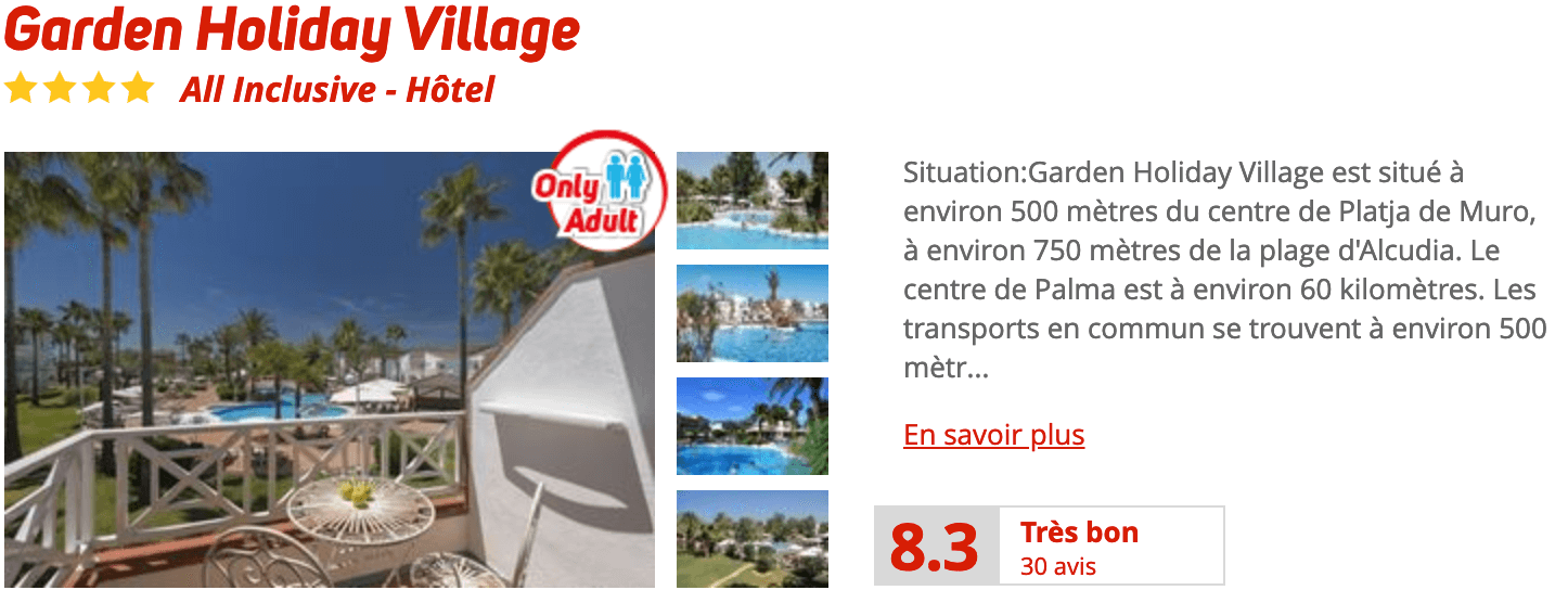 Garden Holiday Village