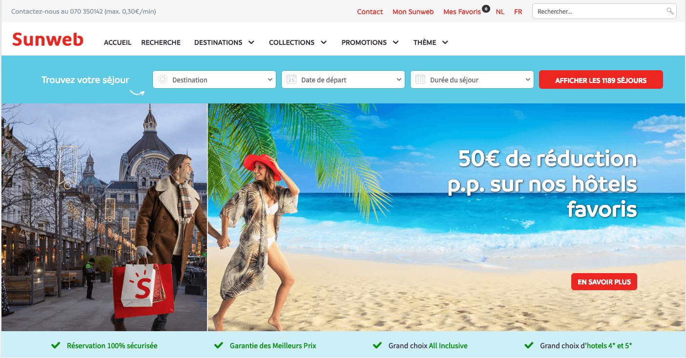 Vacances Sunweb